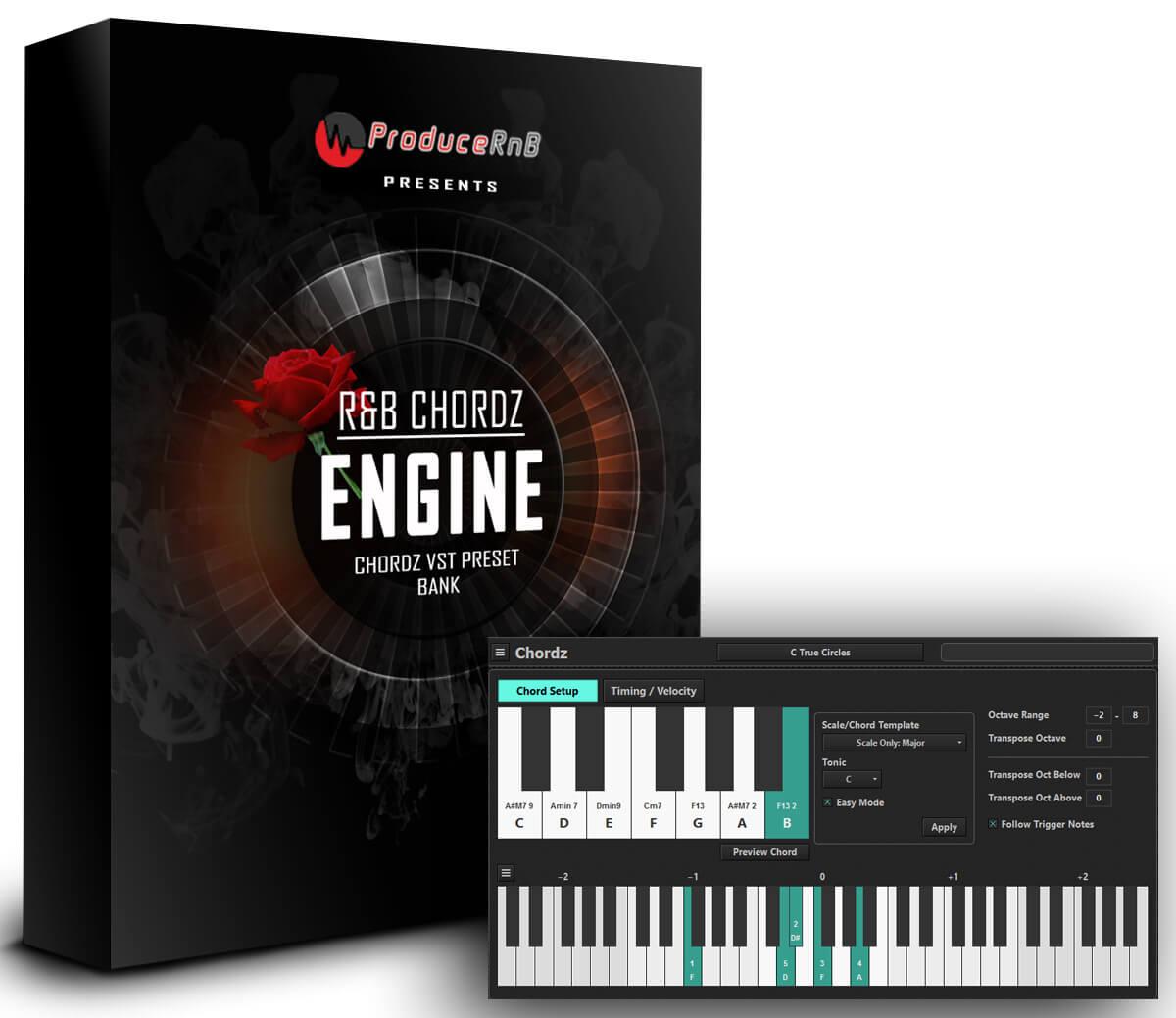 ProduceRNB - All 6 Engines Presets Crack (CHORDZ, CTHULHU)